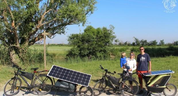 Séjour écologique en famille, la Camargue à vélos solaires.