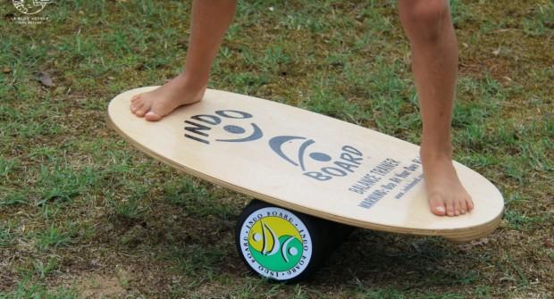 Indoboard, une planche élégante et ludique pour gagner en équilibre