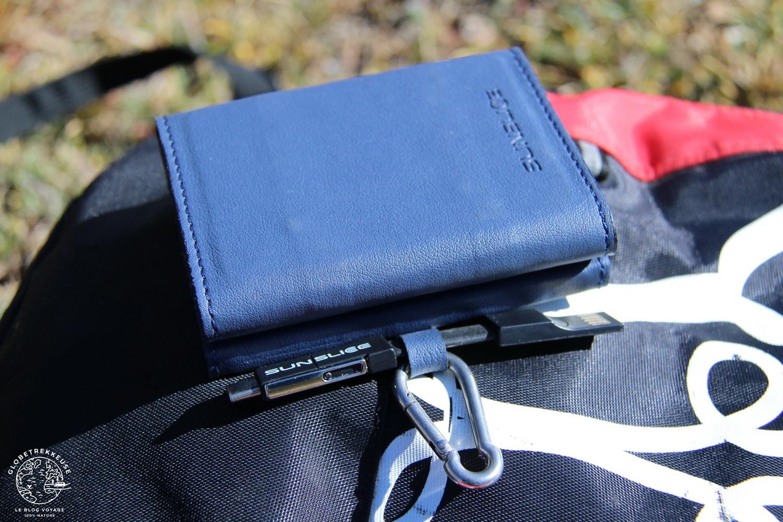batterie externe solaire photon miniature