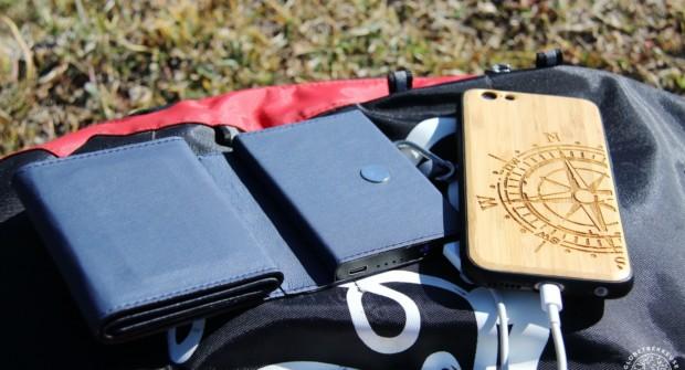 Chargeur solaire Photon, test du plus petit modèle au Monde !