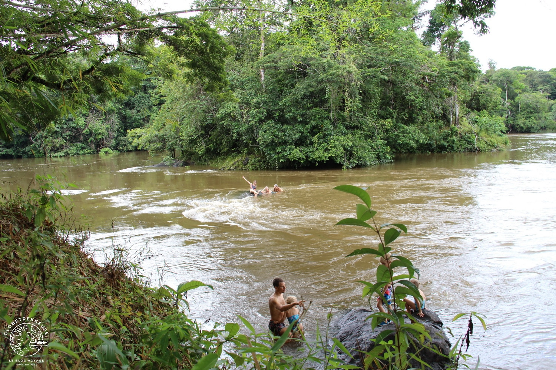 ecotourisme en guyane crique cacao