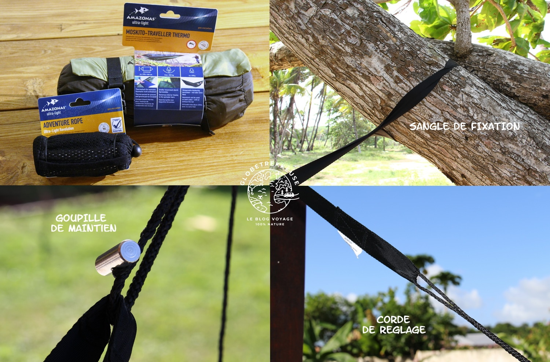 hamac amazonas ultra light reglage