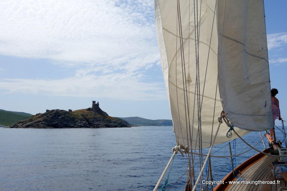 voyage en voilier corse makingtheroad