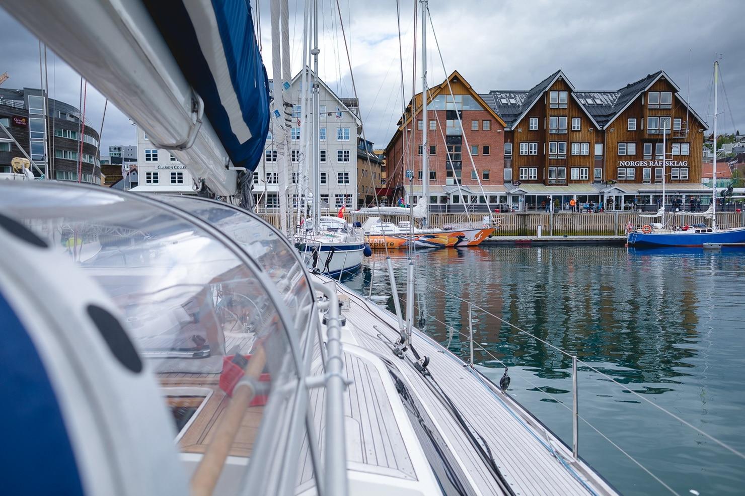 voyage en voilier norvege