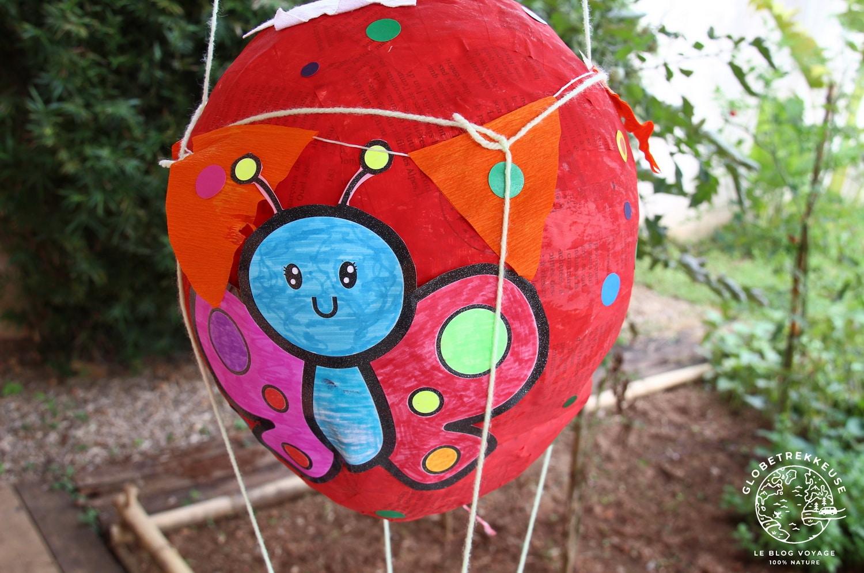 tour du monde famille montgolfiere