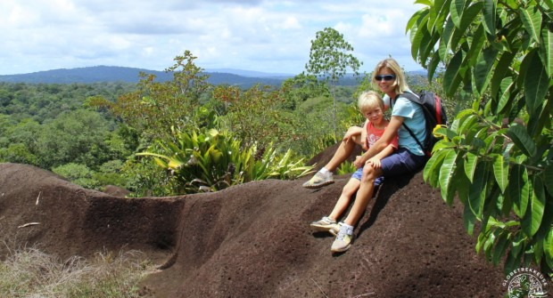 Savane-roche Virginie, l'inselberg le plus accessible de Guyane (randonnée)