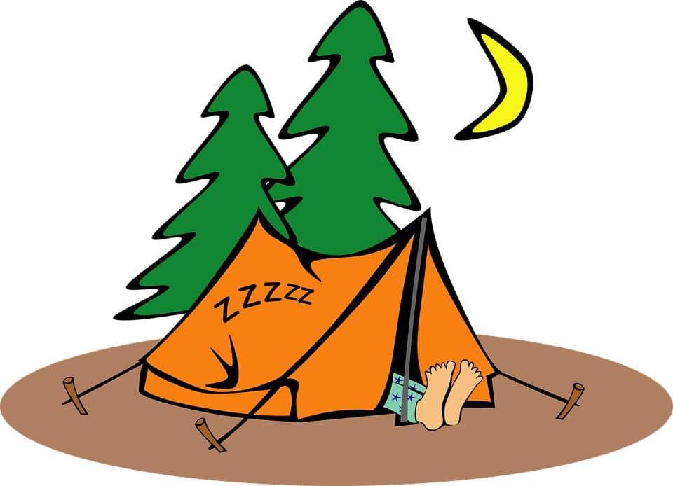 hébergements camping humour