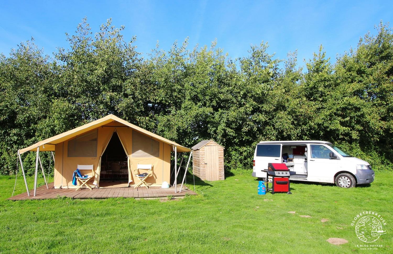 hebergements camping tente safari