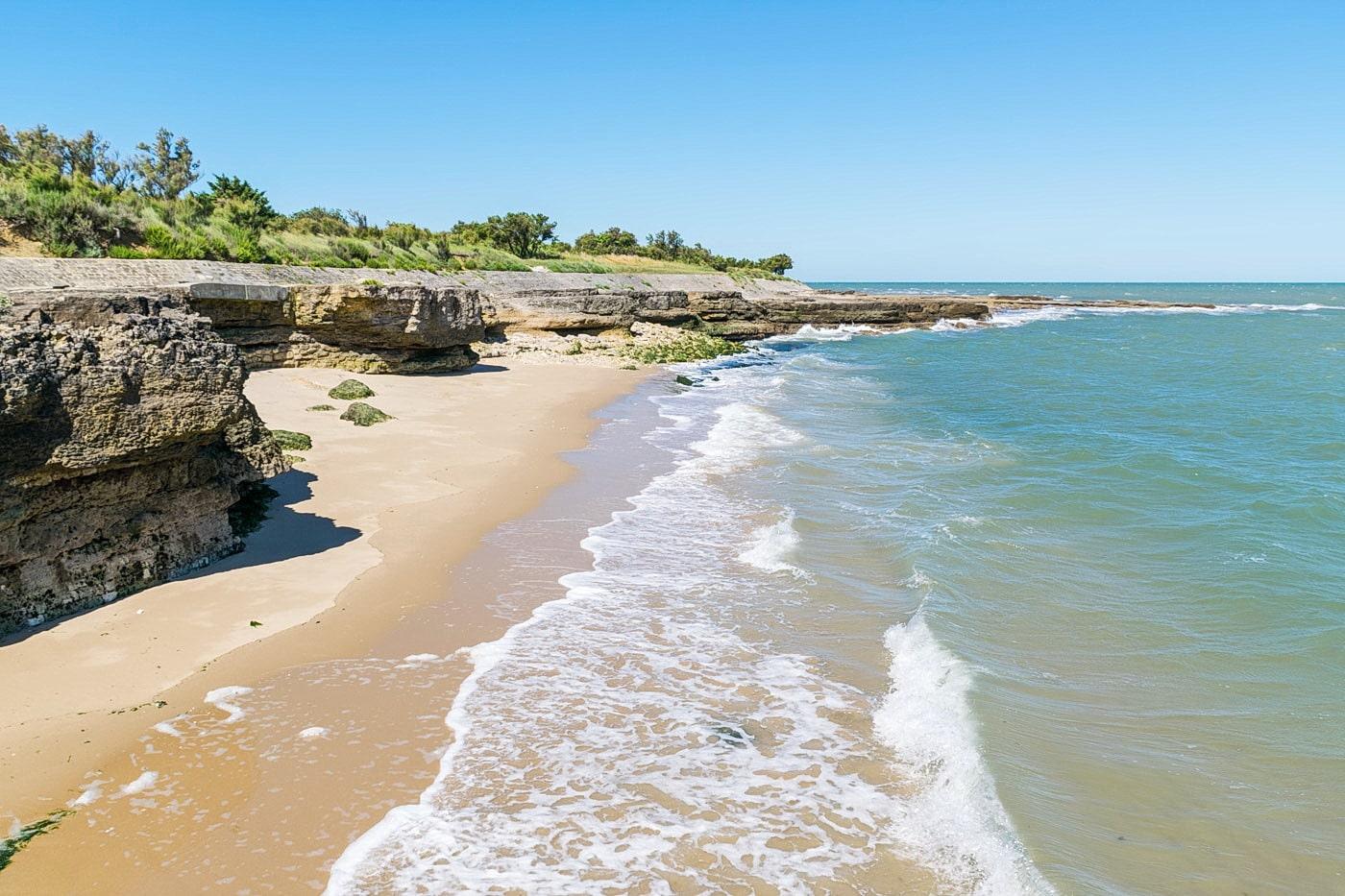 Cote Atlantique ile aix plage