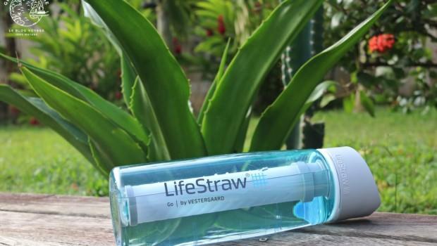 Gourde filtrante Lifestraw Go2, test complet au cœur de l'Amazonie !