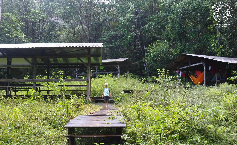 sentier du molokoi bivouac guyane