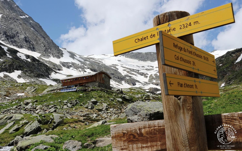 tour des glaciers vanoise aussois