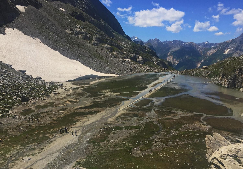 tour des glaciers vanoise