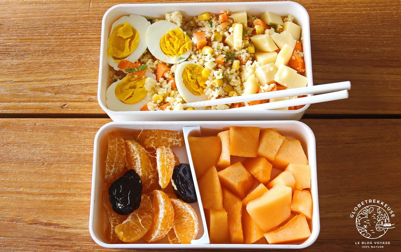 kit zero dechet lunch box sante