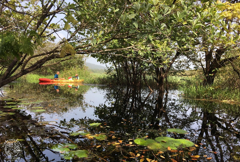 la guyane en famille lac pali