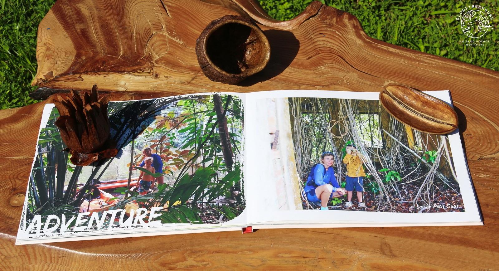 album photo personnalise aventure