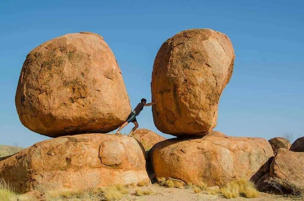 road trip australie devils marbles