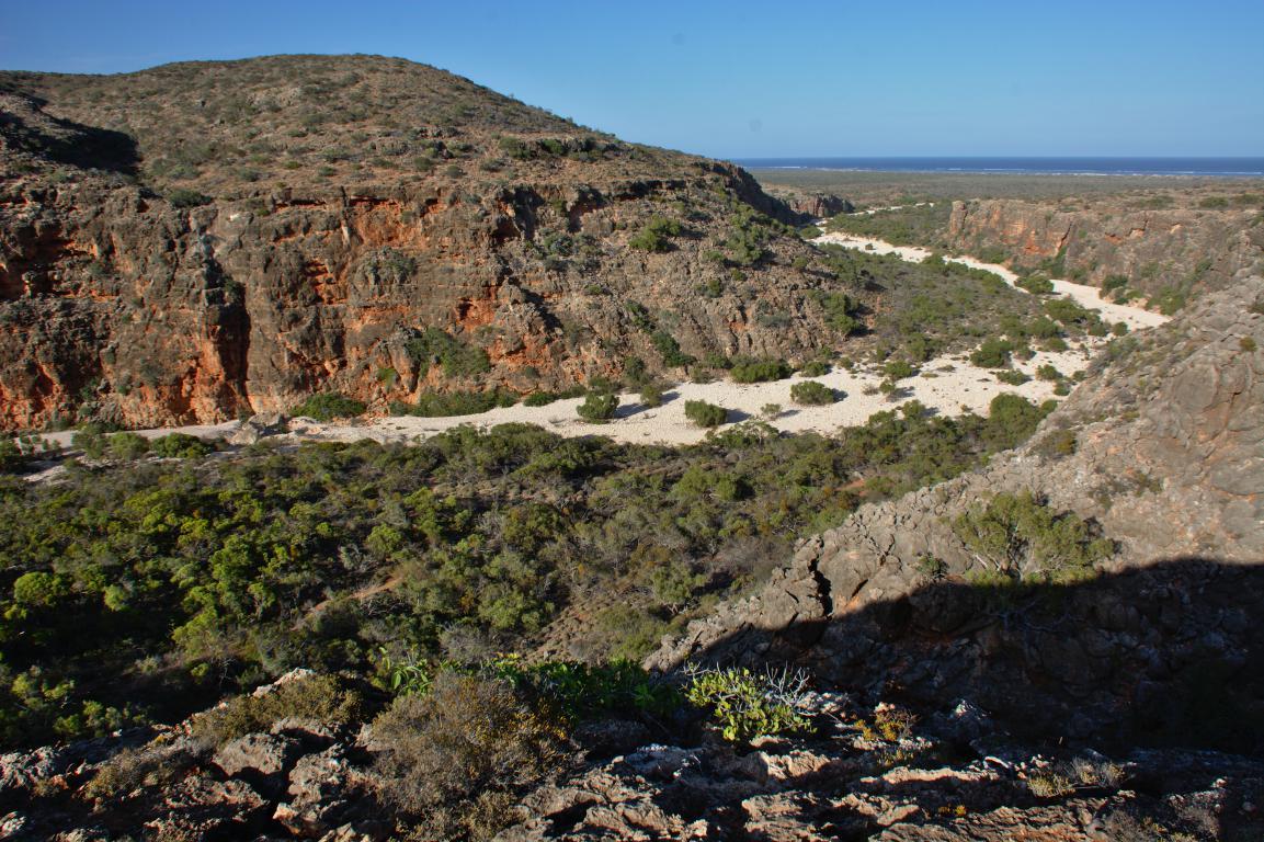 road trip australie parc cape range