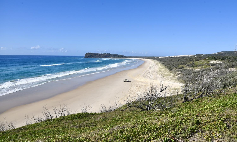 road trip en australie ile fraser