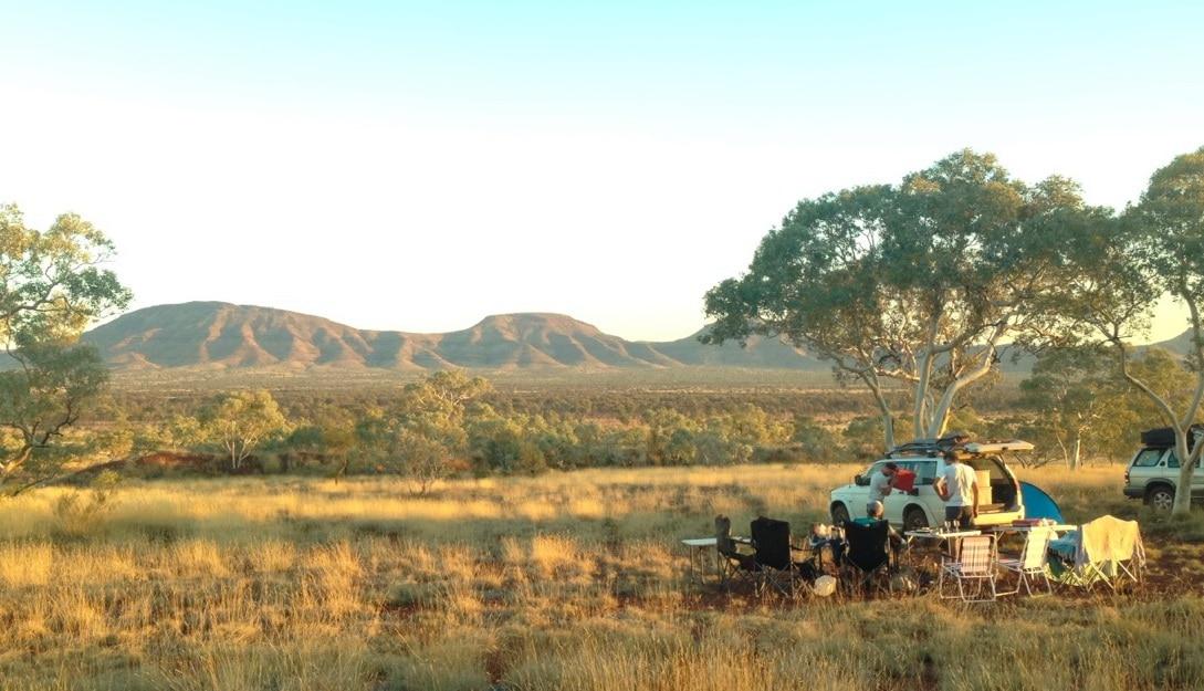 road trip en australie parc karijini