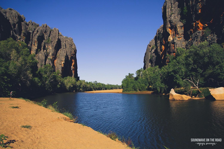 road trip en australie windjana gorge